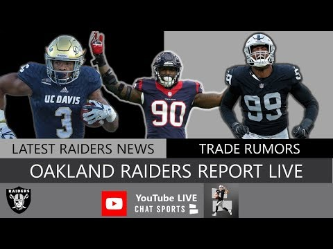 Oakland Raiders Report LIVE With Mitchell Renz (6/18/19)