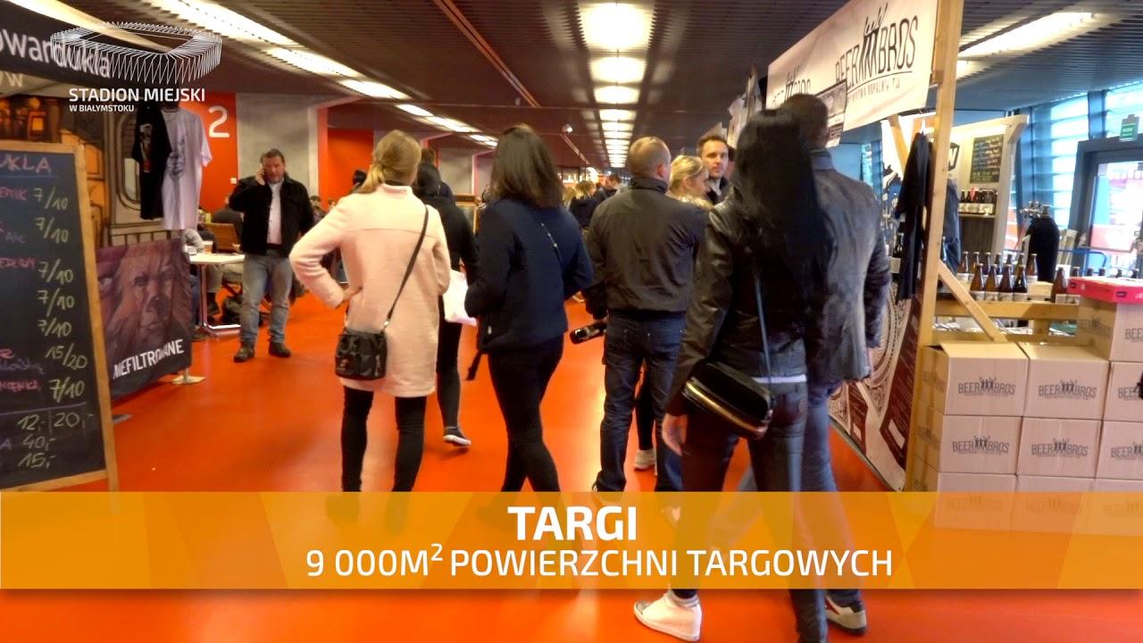 Stadion Miejski w Białymstoku - Idealne miejsce na każde wydarzenie - TARGI - Spot