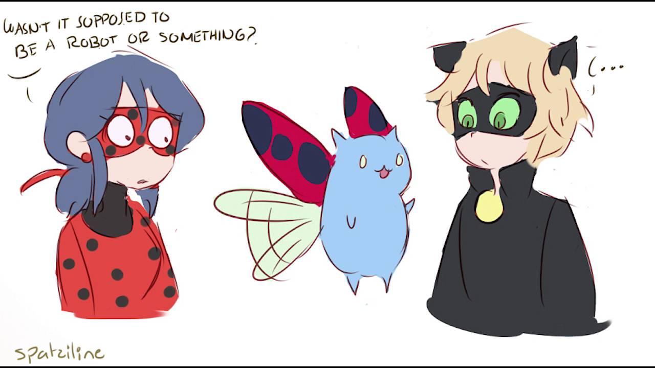 Ladybug and Cat Noirs son Miraculous Ladybug Comic Dub