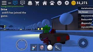 ROBLOX Work At A Pizza Place Glitching Vehicles with Cotton Candy 14