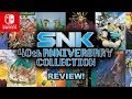 SNK 40th Anniversary Collection Review! (Nintendo Switch)