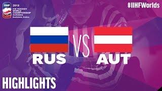 Russia vs. Austria | Highlights | 2019 IIHF Ice Hockey World Championship