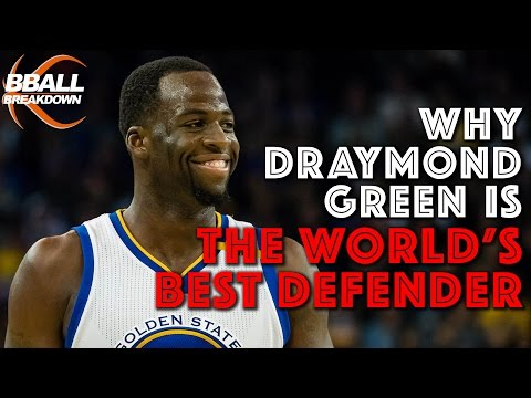 Why Draymond Green Is THE WORLD'S BEST DEFENDER
