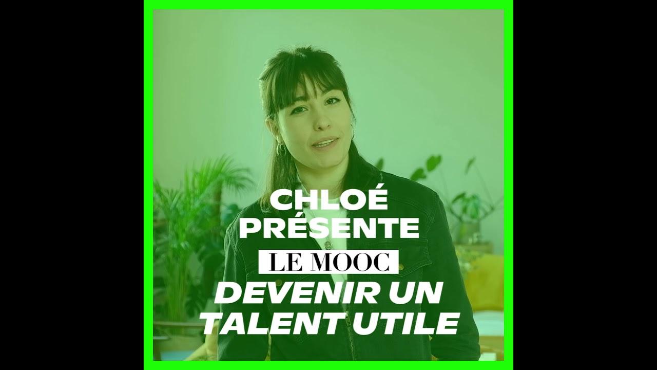 """Chloé présente la Masterclass """"Devenir un Talent Utile"""" 🔥"""