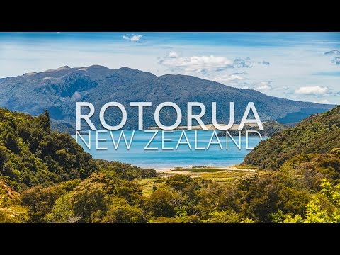 Rotorua, New Zealand / Geothermal valleys EPIC footage