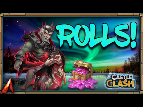 Castle Clash Rolling For Heroes/talents! + Events!