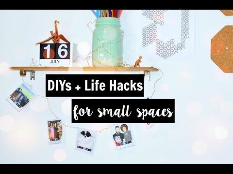 DIY + Life Hacks   Small Spaces