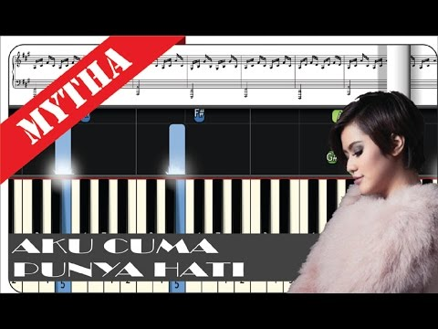 Mytha Lestari - Aku Cuma Punya Hati - Tutorial Piano