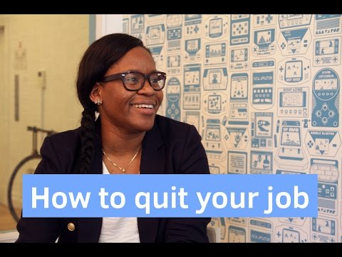 How to quit your job - the right way
