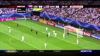 USMNT Czech Republic 2006 World Cup Full Game isa