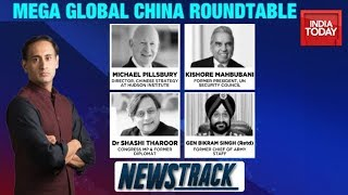 Ladakh Standoff | Global Roundtable: Decoding China's Triple Dare | Newstrack With Rahul Kanwal