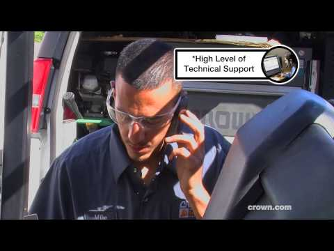 A Day In The Life Of A Crown Service Technician: Mike In Sacramento, California