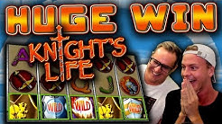 HUGE WIN on Knight's Life!