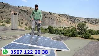 Bir Ev İçin Solar Sistem Maliyeti (2018) 4800 TL