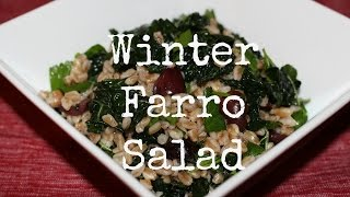 Winter Farro Salad - Cruelty Free Christmas Collaboration