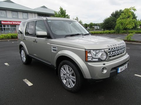 Review & Test Drive: 2014 Land Rover Discovery 4 XE