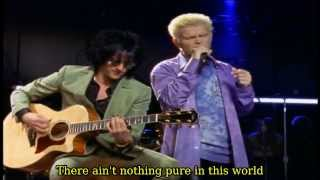 Billy Idol - White Wedding [Storytellers NY 2001] Lyrics On Screen HD