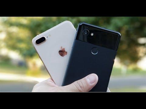 Guerra de cámaras Google Pixel 2 XL vs iPhone 8 Plus