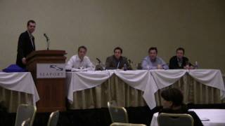 Source Boston 2010: The Realities of Starting a Security Company Part I: The Entrepreneurs 3/6