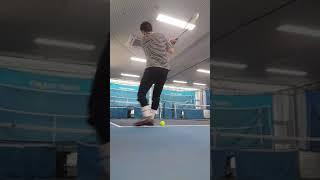코로나 시국엔 테니스 머신기