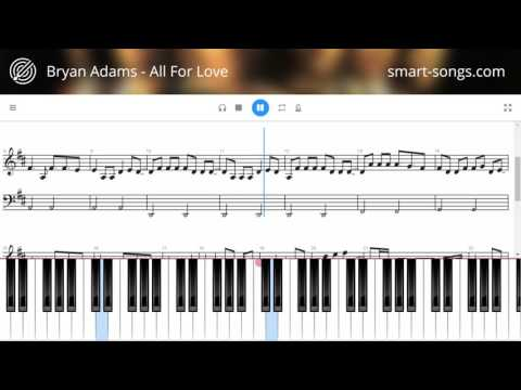 Пианино онлайн на клавиатуре - Ноты фортепиано. Ноты для
