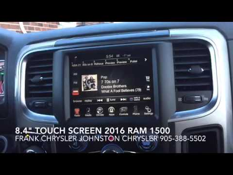 """2016 Ram 1500 >> Uconnect 8.4"""" Touch Screen 2016 Ram 1500 - YouTube"""