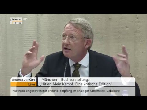 """Buchvorstellung: """"Hitler, Mein Kampf. Eine kritische Edition"""" am 08.01.2016"""