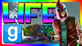 THE MEANING OF LIFE | Gmod Custom Adventure | The Magical Whale, Mystery Rainbow Wall
