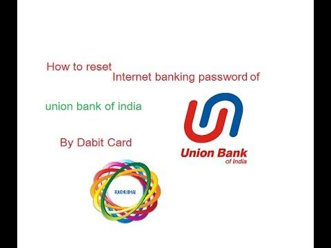 bank of india debit card password reset