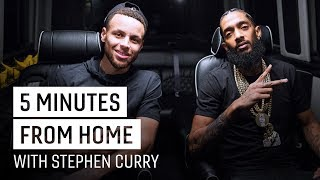 Nipsey Hussle & Stephen Curry on Hip Hop & Fatherhood | 5 Minutes from Home