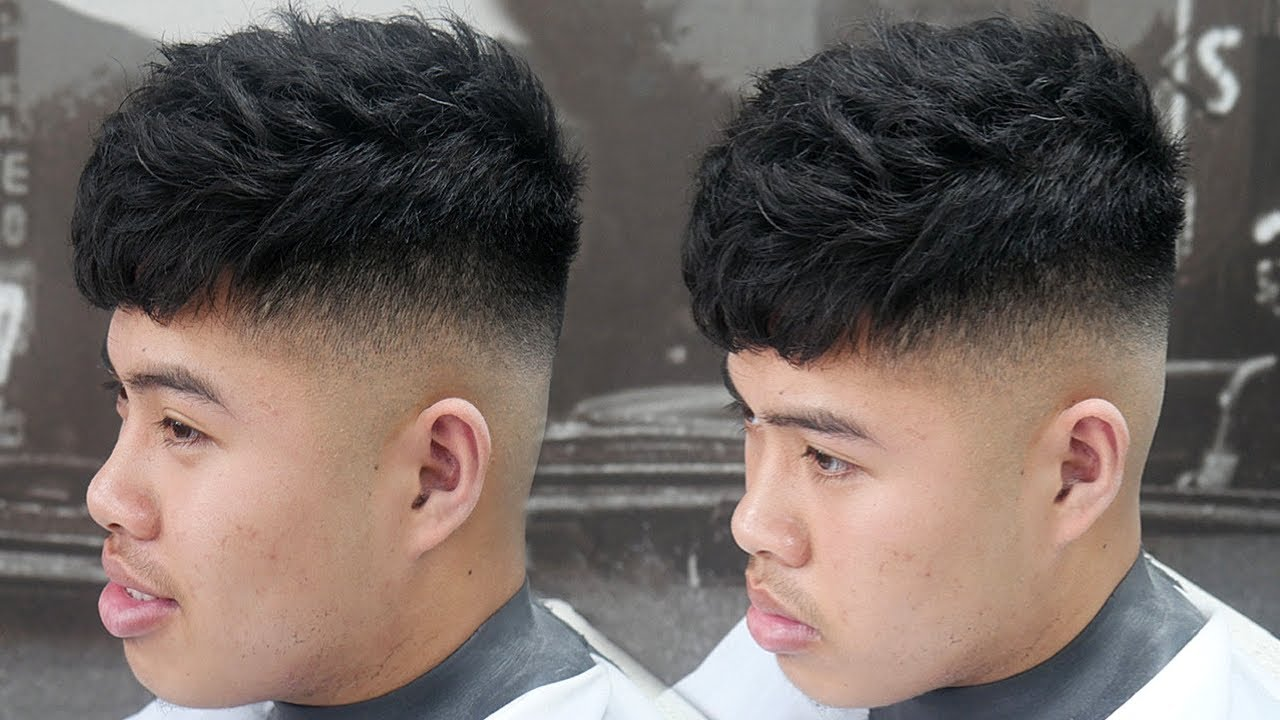 how to cut wavy hair for men