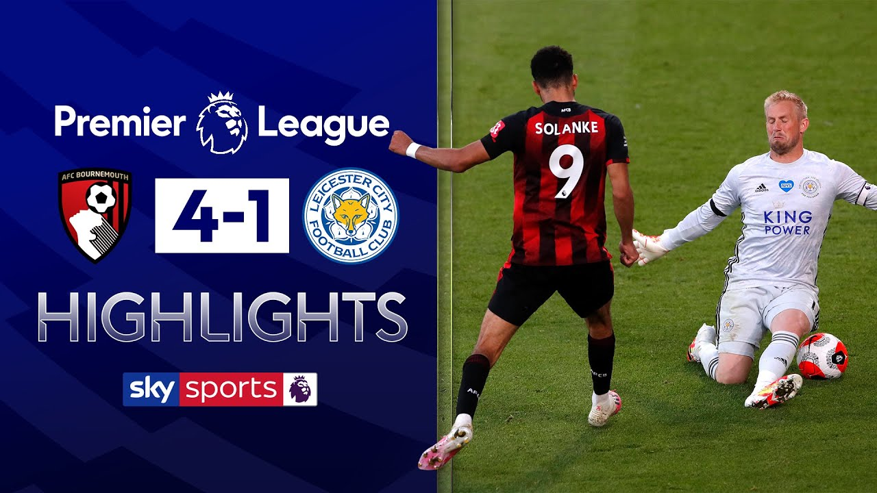 Solanke ends goal-drought in VITAL comeback win | Bournemouth 4-1 Leicester | EPL Highlights