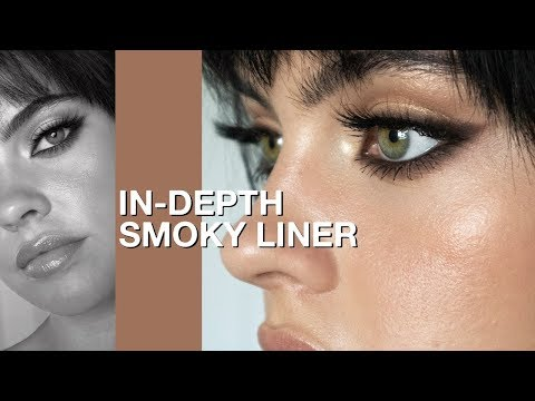 IN-DEPTH SMOKY EYELINER TUTORIAL 🖤| Julia Adams - YouTube