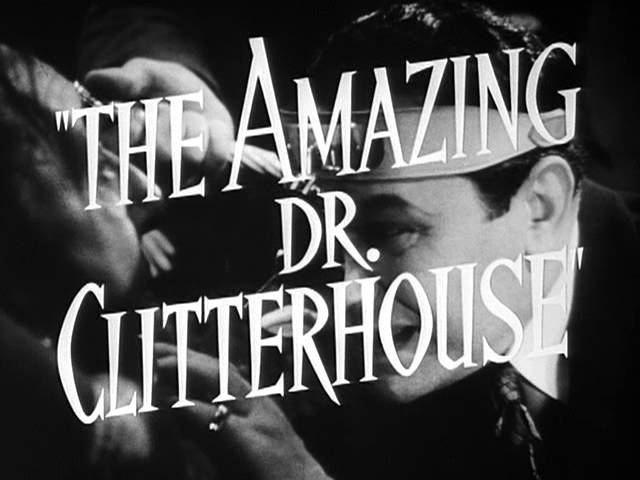 The Amazing Dr. Clitterhouse - Trailer