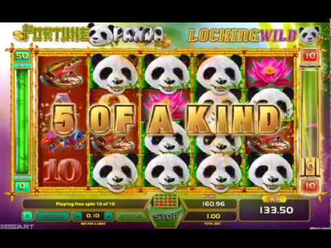 Fortune Panda Slot (GameART) - Freespins Feature - Big Win #1