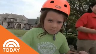 Girl With Cerebral Palsy Gets Special Bike Made Just For Her | TODAY