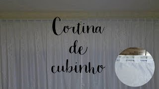 DIY CORTINA DE CUBINHO MUITO FÁCIL – SUELLEN REDESIGN