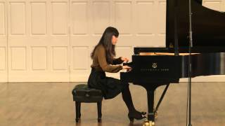 Chuhan Zhang plays Chopin Nocturne in B major Op. 62 No. 1