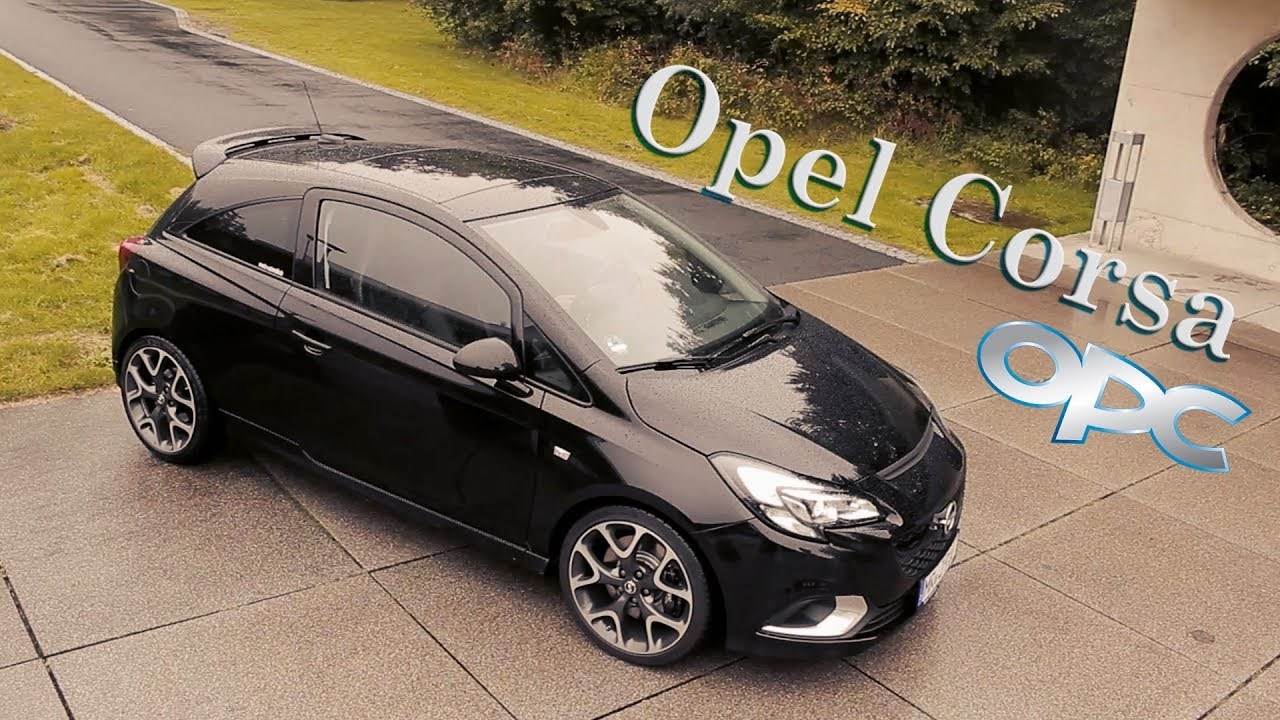 opel corsa e opc testfahrt youtube. Black Bedroom Furniture Sets. Home Design Ideas