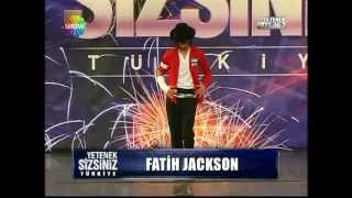 Egyptian Dance - Fatih Jackson - Michael Jackson Dance - Part 1 (Turkey Got Talent)