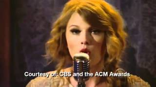 """Mean"" Taylor Swift Live @ AMA CBS"