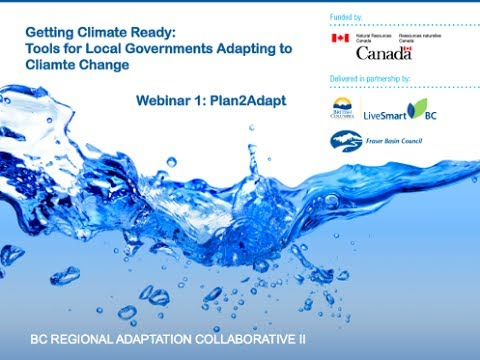 Plan2Adapt: Tools for Assessing How Climate Change will Affect your Community or Region