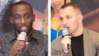 Terence Crawford vs. Egidijus Kavaliauskas - FULL FINAL PRESS CONFERENCE | Top Rank Boxing