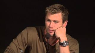 Chris Hemsworth on Losing His Thor Muscles