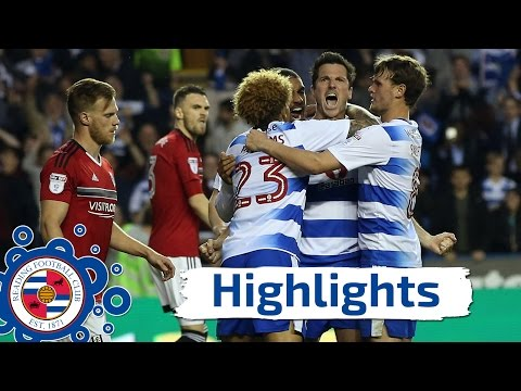 Reading 1-0 Fulham (2-1), Championship play-off semi-final, 16th May 2017 (2016/17 highlights)