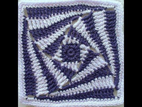 Crochet Patterns For Free Crochet Blanket Squares 2262 Youtube