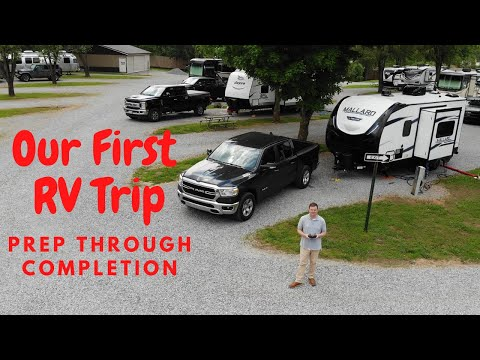 Our First RV Trip In The Heartland Mallard Travel Trailer (From Preparation Through Completion)