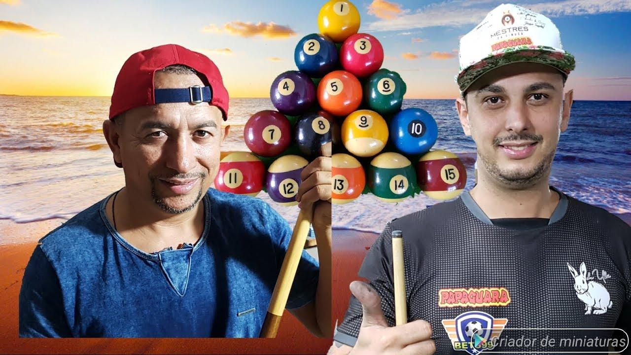 Baianinho x Coelho   torneio 8ball 8/3/2020
