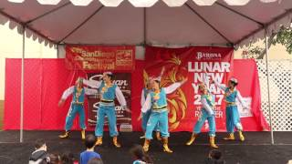 Swan Geese 鸿雁 [San Diego Chinese New Year Fair 2017]