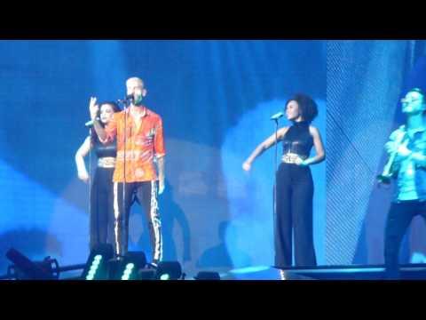 M Pokora - Soudain il ne reste qu'une chanson, Nantes 12/03/17.